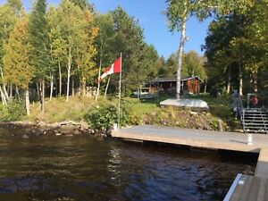 Waterfront home or cottage on peaceful Lake Tomiko
