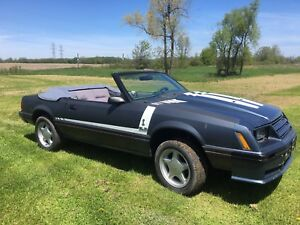 1984 Ford Mustang convertible roller