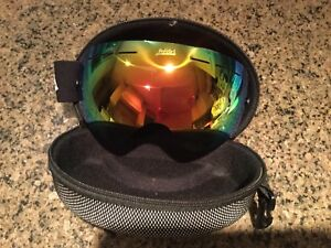 Go Hike Snow snowboarding goggles, case, extras (New) 2 avail.
