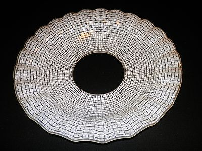 VINTAGE ART DECO GLASS LAMP SHADE PATTERNED GLASS SHADE - FREE - Free Glass Deco Patterns