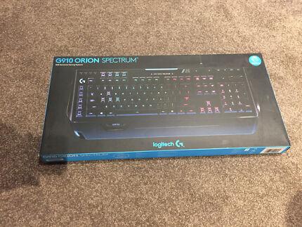 Logitech G910 Orion Spectrum RGB Mechanical Gaming Keyboard (NEW)
