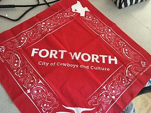 Fort Worth Texas handkerchiefs