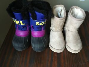 EUC size 8 toddler girls boots
