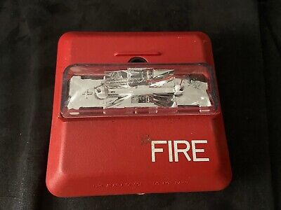 Wheelock Zns-mcw Fire Alarm Hornstrobe Wall Red