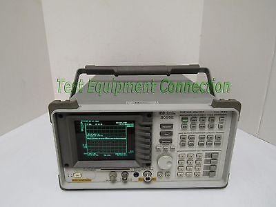 Agilent-keysight 8595e Portable Spectrum Analyzer 9khz To 6.5 Ghz