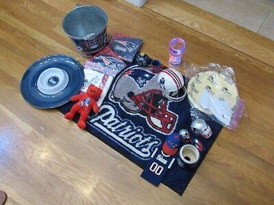 New England Patriots Memorabilia - New England Patriots Memorabilia Excellent Party Pack of Items Tom Brady