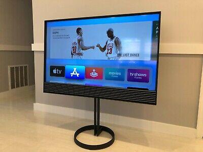 Bang & Olufsen BeoVision Horizon 48 w/ Floor Stand and BeoRemote ONE BT in Silk