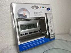 NEW La Crosse Radio Controlled Projection Alarm Clock Atomic Time WT-5720 ‼️