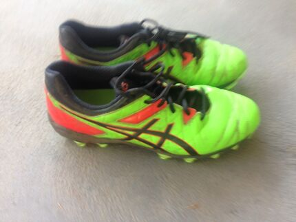 ASIC football boots