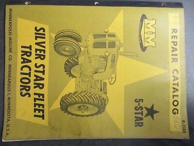 Minneapolis Moline 5 Star Tractor Repair Catalog