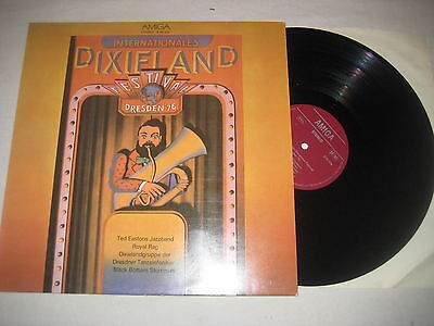Internationales Dixiland Festival Dresden '76  Vinyl  LP Amiga