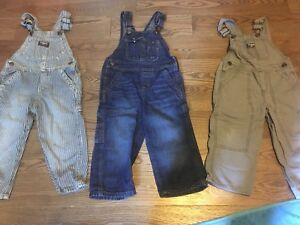 Carters 2T overalls