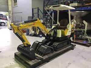 Yanmar B-12 Compact Excavator Silverwater Auburn Area Preview
