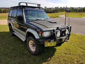 1996 Mitsubishi Pajero Turbo Diesel Thornton Maitland Area Preview