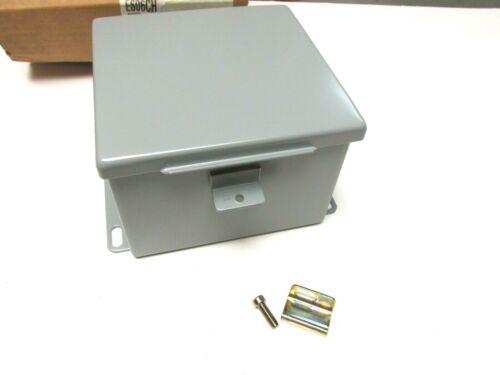 New  Rittal Electromate Cut Out Box Nema 12 & 13 Enclosure Cat# E606ch .. Uy-103