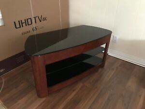 TV Stand - Tempered Glass