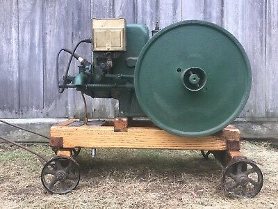 Fuller And Johnson Hit And Miss Engine. 2 Hp 1927 Very Good Restored Condition