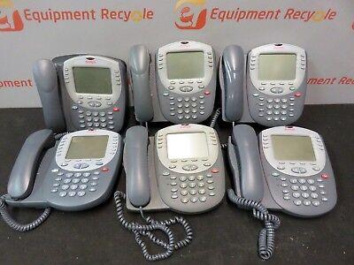 Avaya 2420 Multiline Digital Display Business Office Phone Lot Of 6