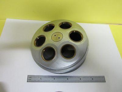 Microscope Part Motorized Nosepiece Nikon Japan Optics As Is Binu7-07