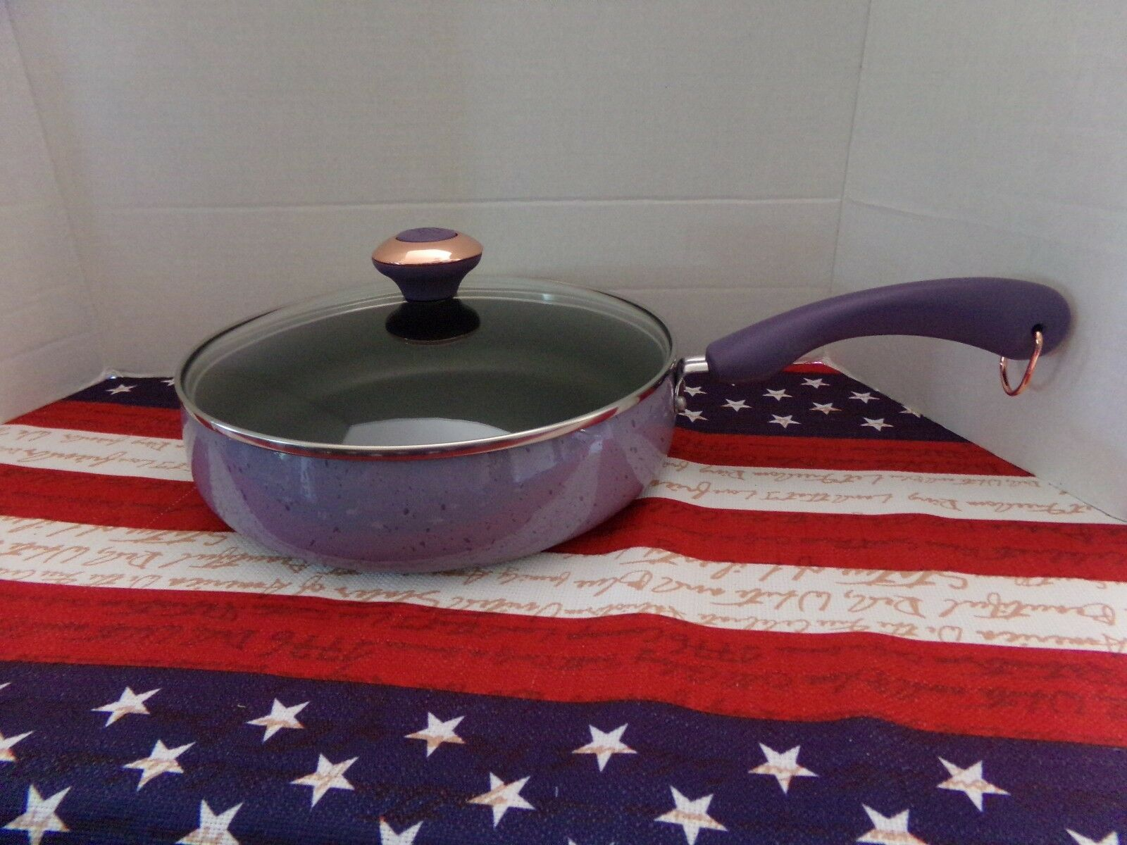 Paula Deen® Signature 15-pc. Lavender Speckle Porcelain