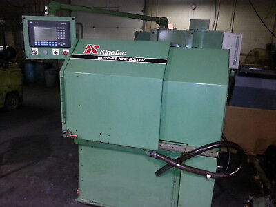 Kinefac Mc 55 Spline Roller - Thread Roller - Or Ball Joint Burnishing Machine