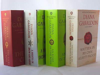 Outlander Series #5-8:  Books by Diana Gabaldon (Mass Market Paperback 7x4)