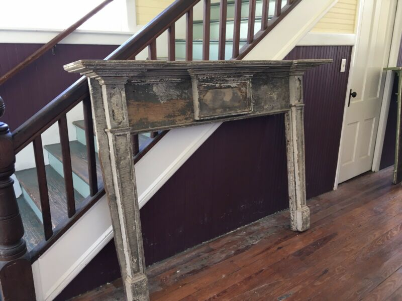 Late 1700's Federal Fireplace Mantel