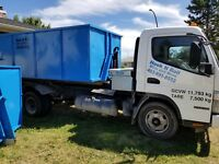 Garbage bin rental and waste removal