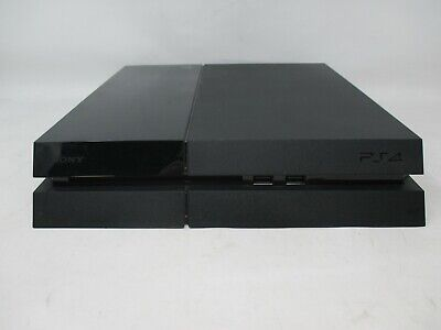 Genuine Sony PlayStation 4 (PS4) 500GB Black Console (CUH-1001A) - UD - READ