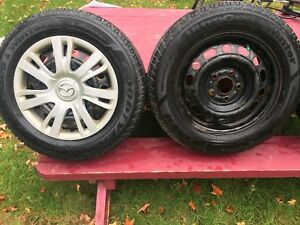 Goodyear ultra grip winter tires. 195/65 R15