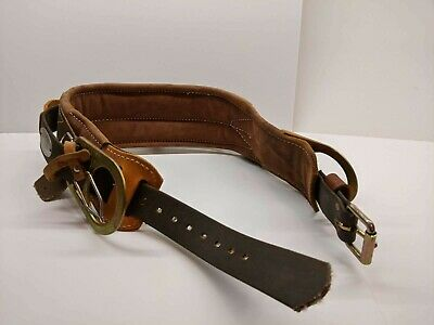 Klein Tools Leather Lineman Pole Tree Climbing Belt Size 38-46 5266n22 2007