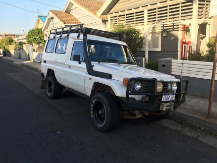 1994 Toyota Land cruiser HZJ75RV (4.2l turbo diesel) Footscray Maribyrnong Area Preview