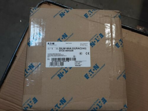XTCE185H22B EATON MOELLER SERIES DILM185A/22(RAC240) CONTACTOR 90Kw, 400V/ AC-3