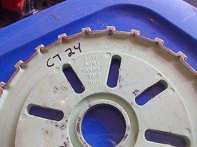 1 Used C724 Plastic Farmall Mccormick Ih Planter Seed Plate C7 24 C 724
