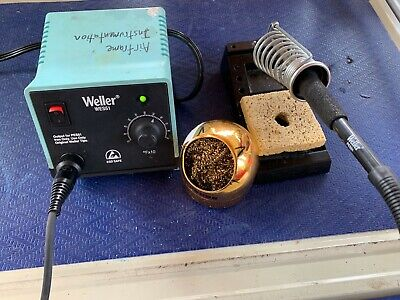 Weller Wes51 Soldering Station With Pes51 Iron And Tip Cleaner