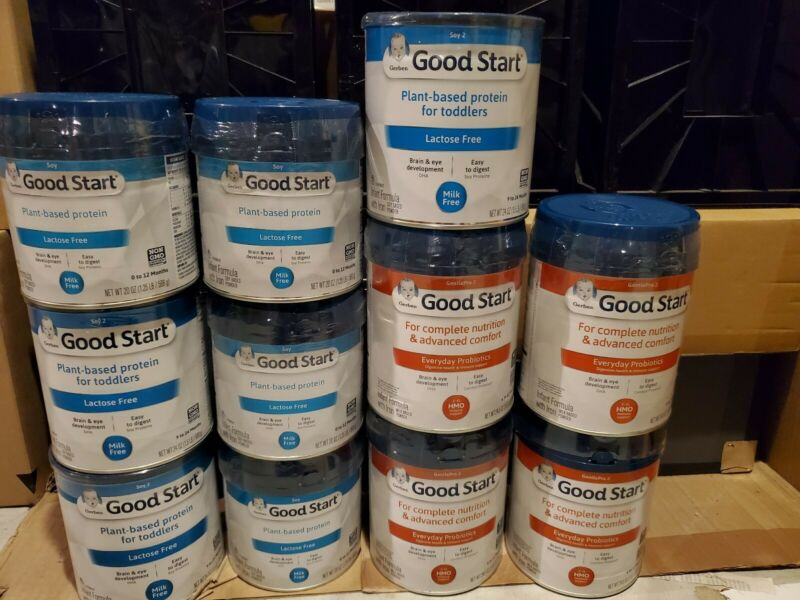 GERBER GOOD START SOOTHE HM-O INFANT FORMULA LOT FREE SHIPPING
