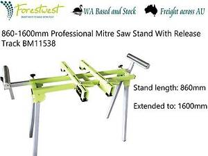 Professional Mitre Saw Stand With Release Track [BM11538] Canning Vale Canning Area Preview
