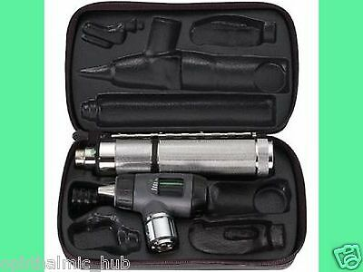 Welch Allyn 3.5v Macroview Otoscope With C-cell Handle In Case 25090-mbi Fr Ship