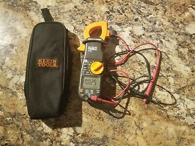 Klein Tools Multimeter Cl1000 Voltage Ohm Resistor Test Clamp Meter With Case