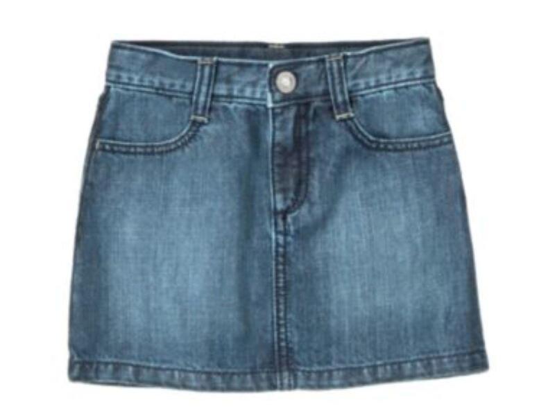 Denim Skirts For Girls