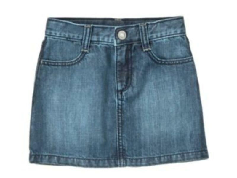 Girls Long Denim Skirt | eBay