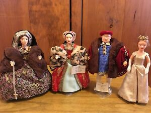 4 Vintage Peggy Nisbet Dolls from the early 60's,