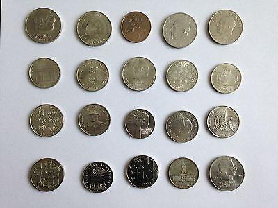 20 DDR Münzen, 5 10 und 20 Mark, Schnäppchen !!!