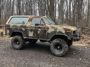 1986 Ford Bronco $2500 OBO Mud truck off-road