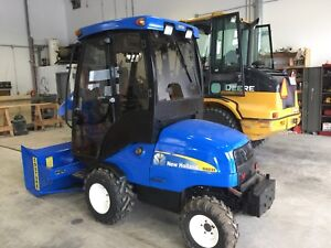 Tracteur frontal New Holland G6035
