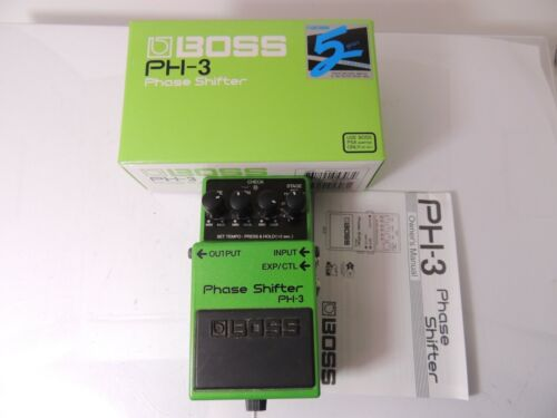 Boss PH-3 Phase Shifter Phaser Guitar Effects Pedal w/Original Box & Manual