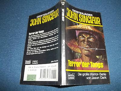 JOHN SINCLAIR***TASCHENBUCH NR.63 + AUTOGRAMM