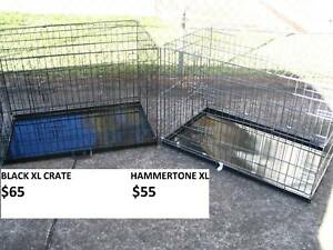 NEW XL Collapsible Metal Pet/Dog Puppy Crate-METAL TRAY-FROM $55