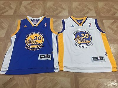 Stephen Curry  30 Golden State Warriors Youth Kids Boys Basketball Jersey