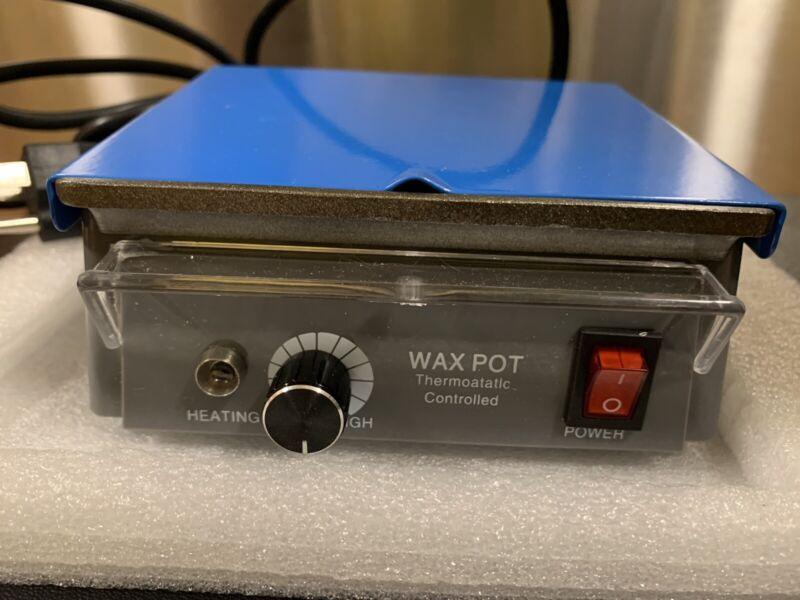 DENTAL LABORATORY JEWELRY WAX HEATER POT THERMOSTATIC CONTROL 110V 345-1115